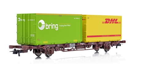 Containervagn Lgns ´Bring/DHL´