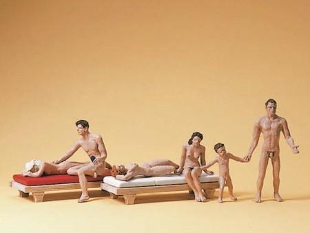 knullkukar nudister på stranden